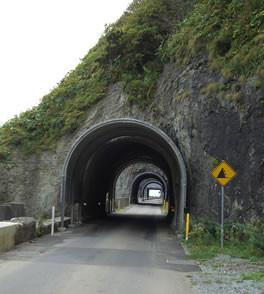 日浦素掘トンネル